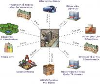 Bán căn view Time city , căn 08: 98,5 m2 chung cư Helios 75 Tam Trinh, 3pn, giá cắt lỗ