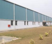 Cho thuê nhà xưởng tại TP Hải Dương, gần cảng Cống Câu 1500m2 khuôn viên 4000m