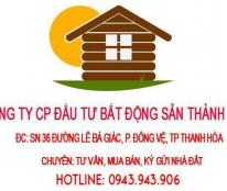 Bán nhà mặt đường Hàn Thuyên, phường Ba Đình, TP Thanh Hóa