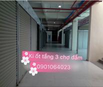 Bán / cho thuê ki ốt tầng 3 chợ Đầm Nha Trang . Lh Trâm 0901064023