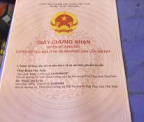 Bán đất thổ cư nở hậu 33m2 làng Phú Ðô - Nam Từ Liêm 1,5 tỷ