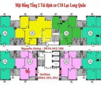 Bán chung cư C18 Xuân La, 92.78m2, giá chỉ 26 tr/m2, nhận nhà ở ngay. LH: 0934.442.586