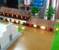 Mô hình kiến trúc nhà dòng Bùi Môn