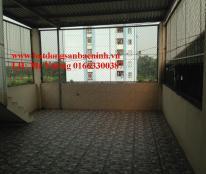 Cho thuê nhà 4 tầng 3 phòng ngủ đường TRần Hưng Đạo, TP.Bắc Ninh