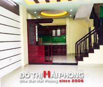 Bán căn nhà đẹp trong ngõ Hoàng Quý, Lê Chân, Hải Phòng.