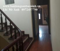Cho thuê nhà 3 tầng đường Nguyễn Trãi, gần cột đồng hồ TP.Bắc Ninh