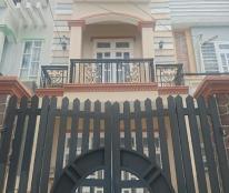 Bán nhà 1 trệt 2 lầu, tường đúc 4 phòng ngủ, 4 tolet đường 16m, sổ hồng riêng bao sang tên
