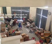 Cho thuê nhà 3 tầng 4 phòng Lý Đạo Thành, Ninh Xá, TP. Bắc Ninh