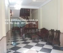Cho thuê nhà 3 tầng 5 phòng khép kín đường Đấu Mã, TP. Bắc Ninh