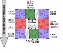 Bán căn 08 tòa NO2-T3 Dự án Ngoại Giao Đoàn, Xuân Tảo,Bắc Từ Liêm vào tên trực tiếp CĐT Quang Minh