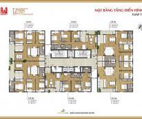 Căn 3 phòng ngủ Times Tower giá chỉ 31 tr/m2, CH4: 127.8 m2, ban công ĐN, LH chính chủ
