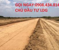 Mở bán đất nền mặt tiền đường lớn liền kề KCN Giang Điền, giá 450tr/nền. 0908 434 814