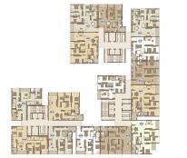 Bán chung cư Mandarin Garden Hoàng Minh Giám, 127m2, 2PN, 45tr/m2 nhà thô