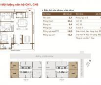 Chính chủ bán dự án Time Tower căn hộ 15CH2, view Lê Văn Lương, DT 107.3m2, 3PN, giá bán: 31tr/m2