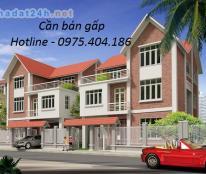 Chính chủ cần tiền bán nhanh lô Biệt Thự Trung Văn Tổng Nhà-Hancic 132m2, sổ đỏ, vị trí đẹp