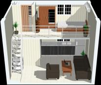 Bán căn hộ xã hội Phúc An, 30m2, giá gốc200tr, có SHR, sở hữu vĩnh viễn
