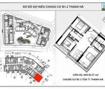 Chung cư t1, t2, t3 Thanh Hà Cienco 5 mở bán đợt đầu chỉ 10 triệu/m2.