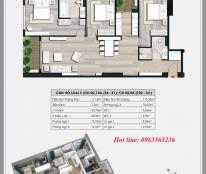 Chính chủ cần bán căn hộ chung cư Ecolife Capitol, dt 111.8m2, tòa A2, 3pn, cửa TB ban công ĐN - TN