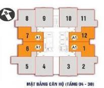 Chính chủ cần bán gấp căn hộ 11-09 CT1 chung cư Nam Xa La, DT 81,6m2 giá 12tr/m2 C Nhung 0911163663