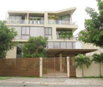 Cho thuê biệt thự Phú Mỹ Hưng khu Cảnh Đồi 10*20m có 2 lầu 5PN nhà mới đẹp, call 0918360012