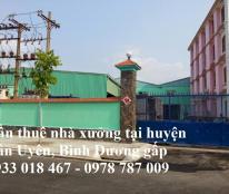 Cần thuê nhà xưởng tại khu công nghiệp Nam Tân Uyên,  Bình Dương 0933 018 467