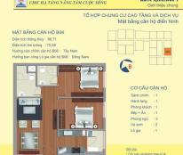 Chính chủ bán gấp, 2PN, 1,6 tỷ full nội thất tại chung cư 122 Vĩnh Tuy