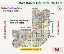 Chính chủ bán chung cư Sky City Towers 88 Láng Hạ, 107m2, 2PN, full đồ