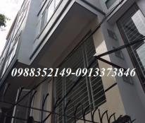 Nhà 2.65 tỷ tại ngõ 168 Kim Giang- Thanh Xuân, 40m2 * 5 tầng