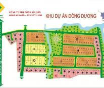 Chủ cần tiền bán gấp lô đất 100m2 dự án Đông Dương, Q9, giá 14 tr/m2