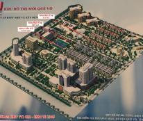 Mở bán đất nền liền kề biệt thự KĐT mới Quế Võ giá chỉ 14tr/ m2 LH - 0987771022.