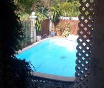 Cho thuê gấp biệt thự phố vườn Mỹ Thái 1, thiết kế 4 phòng ngủ, gara sân vườn cực đẹp, thoáng mát