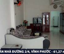 Chính chủ cần bán gấp nhà đường 2/4 - Vĩnh Phước - Nha Trang