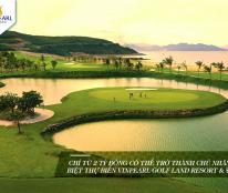 Độc Quyền Vinpearl Golf chính sách mới, CK 25%, vay ngân hàng lãi suất 0% trong 2 năm