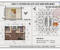 Gia đình tôi cần bán gấp căn hộ chung cư HH3A Linh Đàm, 72m2, 2PN
