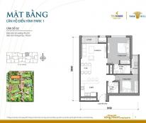 Chính chủ bán căn hộ số 2 tòa Park 1,dự án Vinhomes Times City - Park Hill, diện tích 85,2 m2