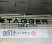 Làm bảng hiệu công ty TAGGER TRAVEL