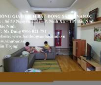 Cho thuê căn chung cư Cát Tường hiện đại tại trung tâm TP.Bắc Ninh