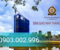 Bán căn hộ Grand Riverside MT Bến Vân Đồn - Chỉ TT 30% + CK 2% + Tặng gói hỗ trợ lãi suất 0%