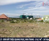 Cần bán gấp đất mặt tiền Triệu Quang Phục - Vĩnh Hòa - Nha Trang