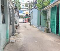 Nhà hẻm xe hơi đậu trước nhà đường số 9, P4, Q8