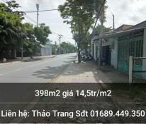 Bán đất tại Đường Long Thới, Xã Long Thới, Nhà Bè, Hồ Chí Minh diện tích 398m2 giá 14.5 Triệu
