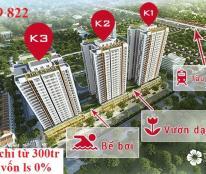 Bán suất ngoại giao căn hộ 3 phòng ngủ Chung cư The K Park Văn Phú Hà Đông