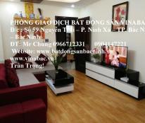 Cho thuê căn hộ CT2 chung cư Cát Tường, Võ Cường, TP.Bắc Ninh