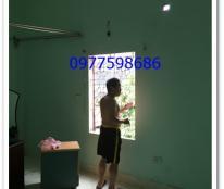 Cho thuê nhà riêng trong ngõ,nhà 2,5 tầng x 45m2