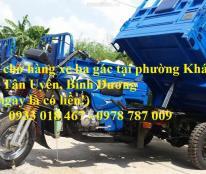 Nhận chở hàng xe ba gác tại phường tân phước khánh, huyện tân uyên, bình dương 0933 018 467