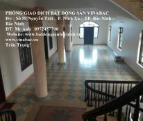 Cho thuê nhà tầng diện tích lớn làm văn phòng, phòng tập tại TP.Bắc Ninh