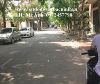 Cho thuê nhà 3 tầng làn 2 đường Nguyễn Gia Thiều, TP.Bắc Ninh