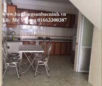 Cho thuê nhà 3 tầng 4 phòng tại khu Hòa Đình, Võ Cường, TP.Bắc Ninh