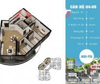 Bán căn 05 suất ngoại giao tòa chung cư cao cấp N01-T8, khu Ngoại Giao Đoàn, giá 29,6 triệu/m2