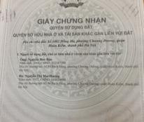Bán nhà 1083 Hồng Hà , Quận Hoàn Kiếm , Hà Nội